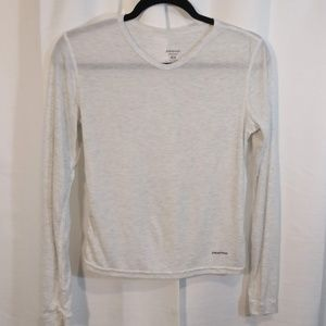 Patagonia Capilene Cream Long Sleeve Tee XS